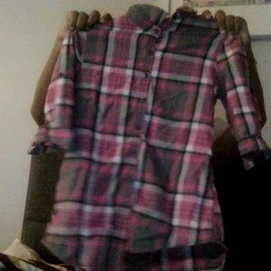 Children's faded glory pink flannel